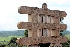 Sanchi Stupa TORANAS Entry Gate3.jpg