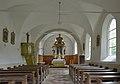 Sankt Martin Kirche in Ums Völs am Schlern innen.JPG