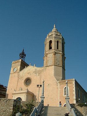 17th century seaside church of Sant Bartolomeu I Santa Tecla