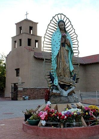 Santuario de Guadalupe - The church in 2012