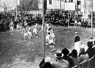 Basketball in Argentina - First game of Campeonato Argentino, Santa Fe v. Córdoba, 1928