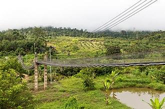 Nabawan District - Image: Sapulut Sabah Former Airfield 04