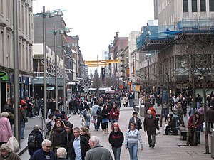 Sauchiehall Street - Sauchiehall Street looking westwards