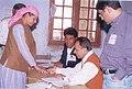 Scene of polling booth in Shimla, Himachal Pradesh on May 10, 2004.jpg