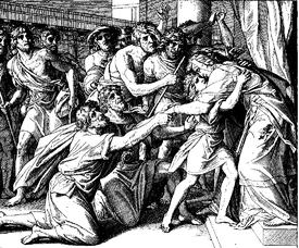Schnorr von Carolsfeld Bibel in Bildern 1860 042