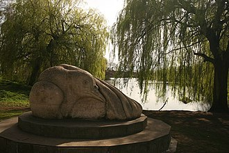 Brookvale Park - Sculpture of bird – geograph.org.uk – 1236287