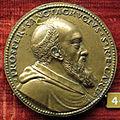 Scuola romana, medaglia di prospero publicola santacroce, cardinale dal 1565.JPG