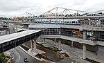 SeaTac light rail station from airport parking garage (2010).jpg