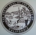 Seal of California, State Parking Garage, 10th and O, Sacramento, California.jpg