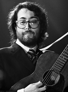 Description de l'image  Sean Lennon Nice 2007 bw 1.jpg.