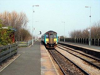Seaton Carew railway station Railway station in County Durham, England