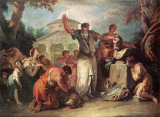 Sebastiano Ricci - Sacrifice to Silenus - WGA19439