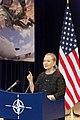 Secretary Clinton Addresses Reporters at NATO Headquarters (8250165642).jpg