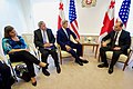 Secretary Kerry, Assistant Secretary of State for European and Eurasian Affairs Nuland, and U.S. Ambassador to Georgia Kelly Sit with Georgian Foreign Minister Janelidze at the Chancellery in Tbilisi (28024071442).jpg