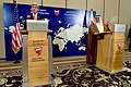Secretary Kerry Addresses Reporters During a Joint News Conference With Bahraini Foreign Minister Sheikh Khalid bin Ahmed al-Khalifa in Manama (26264261996).jpg