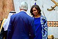 Secretary Kerry Chats With First Lady Obama After Greeting King Salman of Saudi Arabia.jpg