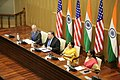 Secretary Pompeo Delivers Closing Remarks at the India 2+2 Dialogue (43603751185).jpg