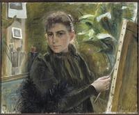 Self-Portrait (Elisabeth Keyser) - Nationalmuseum - 18544.tif