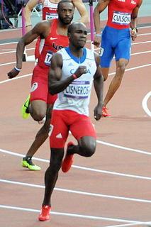 Omar Cisneros Cuban track and field athlete