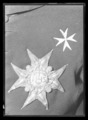 Serafimerordens broderade kraschan - Livrustkammaren - 17850.tif