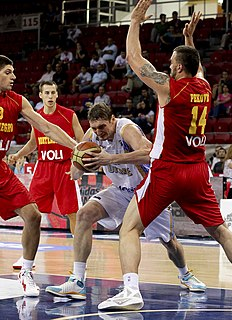 Ukrainian basketball player