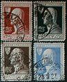 Serie del centenario della morte di Alessandro Volta - 1927 - francobolli del Regno d'Italia.jpg