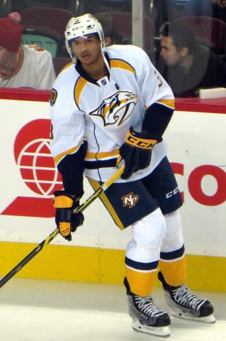 Seth Jones (ice hockey) - Jones with the Predators in 2014