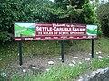 Settle Railway station - Settle to Carlisle Railway sign - geograph.org.uk - 831751.jpg