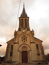 Sexey Forges eglise.JPG