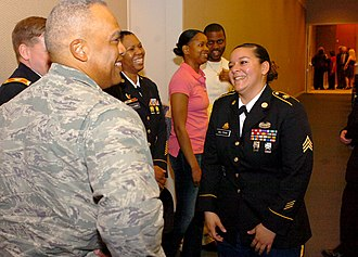 Virginia Women in History - Monica Beltran, a soldier in the Virginia Army National Guard who was awarded the Bronze Star Medal with Valor, one of the 2012 honorees.
