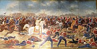 Shaam Singh Attari leading his last charge at the Battle of Sobraon.jpg