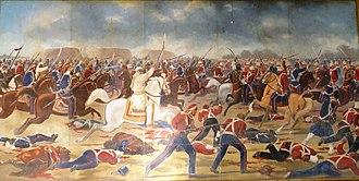 Fauj-i-Khas - SIkh Khalsa cavalry at the Battle of Sobraon