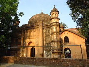 Shahbag - Mosque/Tomb of Khwaja Shahbaz built in 1679