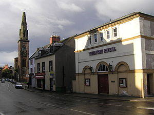 Theatre Royal, Dumfries - The Theatre Royal in Dumfries