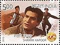 Shammi Kapoor 2013 stamp of India.jpg