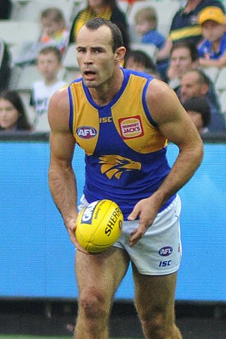 Shannon Hurn - Hurn playing for West Coast in April 2018
