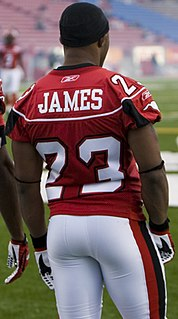 Shannon James (gridiron football) Player of American and Canadian football