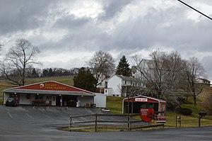 Marshall Township, Allegheny County, Pennsylvania - Shenot Farm Market along Wexford Run Road