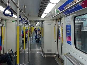 Shenzhen Metro - CRRC Nanjing Puzhen rolling stock on Line 4