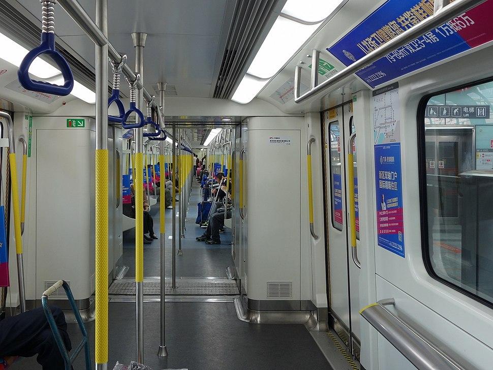 Shenzhen Metro Line 4 Train 20141124