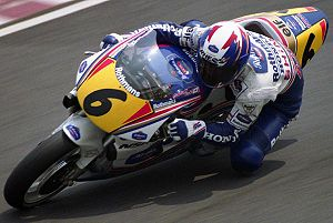 Honda NSR500 - Shinichi Itoh, riding his Honda NSR500 in the Japanese Grand Prix 1993