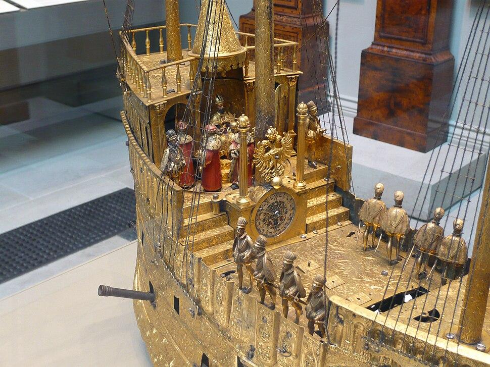 Ship Clock at British Museum