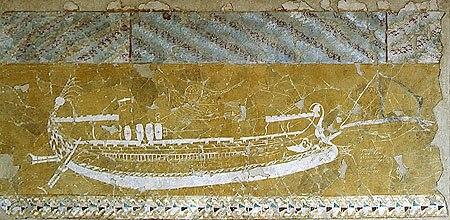 Ship graffiti at Nymphaion