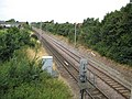Shoeburyness, Railway line to Southend - geograph.org.uk - 913992.jpg
