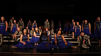 Show choir - Des Moines Lincoln High School performing in 2017.