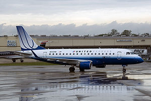 Shuttle America - United Express Embraer 170 operated by Shuttle America