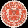 Siegelmarke Der Gemeindevorstand Blankenstein-Saale W0331673.jpg
