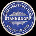 Siegelmarke Gemeindeverwaltung Stahnsdorf - Kreis Teltow W0259852.jpg