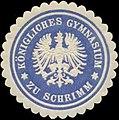 Siegelmarke K. Gymnasium zu Schrimm W0343037.jpg