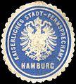 Siegelmarke Kaiserliches Stadt - Fernsprechamt Hamburg W0219672.jpg